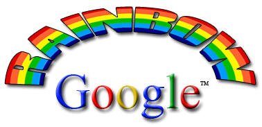 rainbow google.