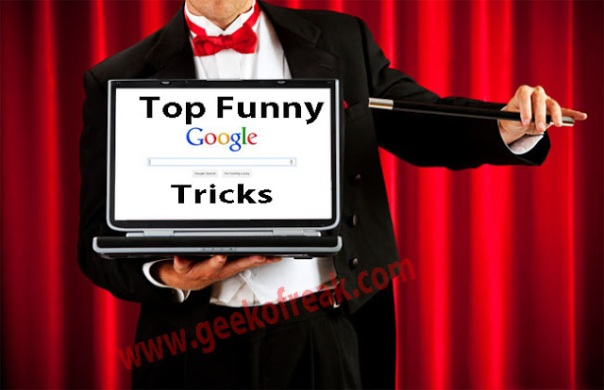 Top funny google tricks.